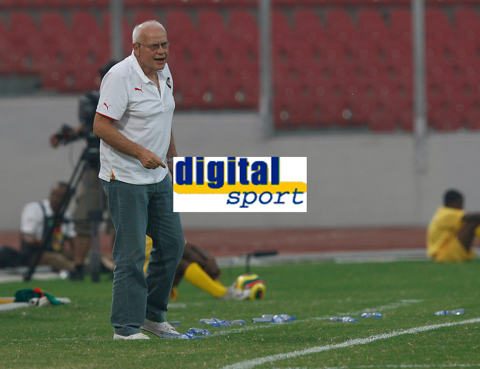 Photo: Steve Bond/Richard Lane Photography.<br />Cameroun v Zambia. Africa Cup of Nations. 26/01/2008. Cameroon coach Otto Pfister