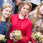 NLD/Amersfoort/20190427 - Koningsdag Amersfoort 2019, Prinses Amalia, Prinses Alexia en Prinses Ariane