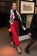 EMILY REDFIELD, `preview evening  in support of The Eve Appeal, a charity dedicated to protecting women from gynaecological cancers. Bonhams Knightsbridge, Montpelier St. London. 29 April 2019