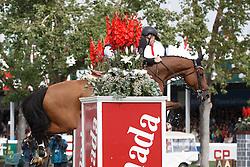 Brash Scott, (GBR), Hello Sanctos winner of the CP International Grand Prix presented by Rolex<br /> Spruce Meadows Masters - Calgary 2015<br /> © Hippo Foto - Dirk Caremans<br /> 13/09/15