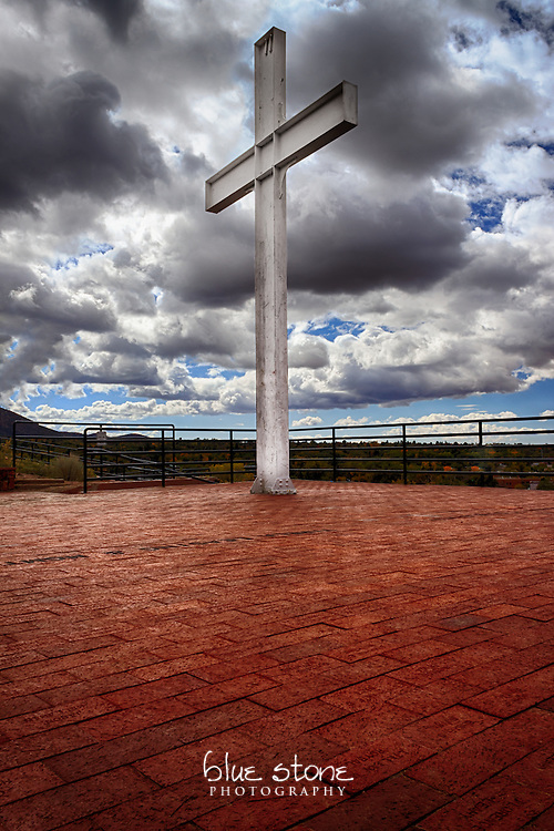 The Cross of the Martyrs serves as a reminder of Santa Fe's history.<br /> <br /> Wall art is available in metal, canvas, float wrap and standout. Art prints are available in lustre, glossy, matte and metallic finishes.