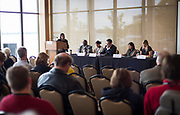 "Panel discussion for ""The Role of Business in Advancing Racial Equity in Dane County"" Cap Times Idea Fest 2018 at the Pyle Center in Madison, Wisconsin, Saturday, Sept. 29, 2018."
