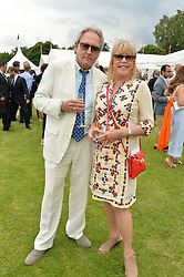 ROD & PATTIE WESTON at the Cartier Queen's Cup Final 2016 held at Guards Polo Club, Smiths Lawn, Windsor Great Park, Egham, Surry on 11th June 2016.