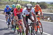 Daniel TEKLEHAIMANOT (ERI), Eugert ZHUPA (ALB), during the 100th Tour of Italy 2017, Giro d'Italia, Stage 1, Alghero - Olbia (206km), on May 5, in Sardegna, Italy - Photo Tim De Waele / ProSportsImages / DPPI
