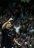 Photo: Paul Thomas.<br /> Manchester City v Chelsea. The Barclays Premiership. 14/03/2007.<br /> <br /> Frank Lampard celebrates his penalty.