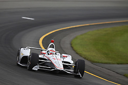 August 19, 2018 - Long Pond, Pennsylvania, United Stated - WILL POWER (12) of Australia take to the track for the ABC Supply 500 at Pocono Raceway in Long Pond, Pennsylvania. (Credit Image: © Chris Owens Asp Inc/ASP via ZUMA Wire)