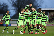 Forest Green Rovers v Port Vale 060118