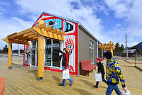 Tourism information center, Carcross, Yukon