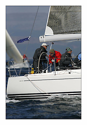 Bell Lawrie Scottish Series 2008. Fine North Easterly winds brought perfect racing conditions in this years event..X35 Exaltation IRL3550 Class 2