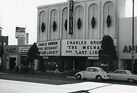 1972 Fox Theater at 6508 Hollywood Blvd.