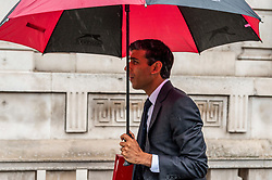 Rishi Sunak, Chief Secretary to the Treasury leaves the Cabinet Office.<br /> <br /> Richard Hancox | EEm 30072019