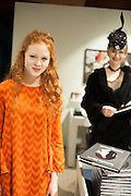 HELENA BARLOW; ALEXIA WIGHT;, Isabella Blow: Fashion Galore! private view, Somerset House. London. 19 November 2013