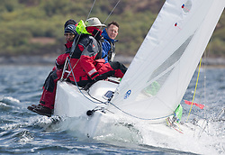 Day one of the Silvers Marine Scottish Series 2015, the largest sailing event in Scotland organised by the  Clyde Cruising Club<br /> Racing on Loch Fyne from 22rd-24th May 2015<br /> <br /> GBR117, Mojo, Donald Syme, FYC, <br /> <br /> <br /> Credit : Marc Turner / CCC<br /> For further information contact<br /> Iain Hurrel<br /> Mobile : 07766 116451<br /> Email : info@marine.blast.com<br /> <br /> For a full list of Silvers Marine Scottish Series sponsors visit http://www.clyde.org/scottish-series/sponsors/