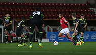 Swindon Sean Murray (22) during the EFL Trophy match between Swindon Town and U23 Chelsea at the County Ground, Swindon, England on 13 September 2016. Photo by Gary Learmonth.