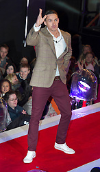 Contestants Kirk Norcross at the launch of  Celebrity Big Brother 2012 in London , Thursday 5th January 2012. Photo by: i-Images