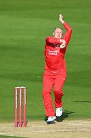 Cricket - 2020 T20 Vitality Blast - Quarter-final - Sussex Sharks vs Lancashire Lightning - County Ground, Hove<br /> <br /> Matthew Parkinson of Lancashire Lightning bowls.<br /> <br /> COLORSPORT/ASHLEY WESTERN