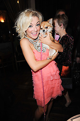 Actress Sheridan Smith at the after show party following the first night of the musical Legally Blonde, held at the Waldorf Hilton Hotel, Aldwych, London on 13th January 2010.
