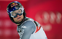 """Alexis Pinturault (FRA) during the 2nd Run of FIS Alpine Ski World Cup 2017/18 Men's Slalom race named """"Snow Queen Trophy 2018"""", on January 4, 2018 in Course Crveni Spust at Sljeme hill, Zagreb, Croatia. Photo by Vid Ponikvar / Sportida"""