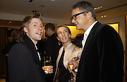 Christopher Bailey, Sam taylor Wood and Jay Jopling. Christopher Bailey hosts a party to celebrate the launch of ' The Snippy World of New Yorker Fashion Artist Michael Roberts' Burberry, New Bond St.  London. 19  September 2005. ONE TIME USE ONLY - DO NOT ARCHIVE © Copyright Photograph by Dafydd Jones 66 Stockwell Park Rd. London SW9 0DA Tel 020 7733 0108 www.dafjones.com