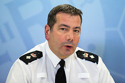"© Licensed to London News Pictures. FILE PICTURE DATED 30/12/2013 of NICK ADDERLEY at a press conference at Greater Manchester Police HQ . The parents of Harry Dunn are calling for Adderley to resign as Chief Constable of Northamptonshire Police over an ""outrageous"" tweet he made on Tuesday night (29th October 2019) .  Harry's parents have instructed lawyers in the US to sue Anne Sacoolas for civil damages and the Trump administration for ""misconduct and cover up"" over the death of their son . Photo credit: Joel Goodman/LNP"