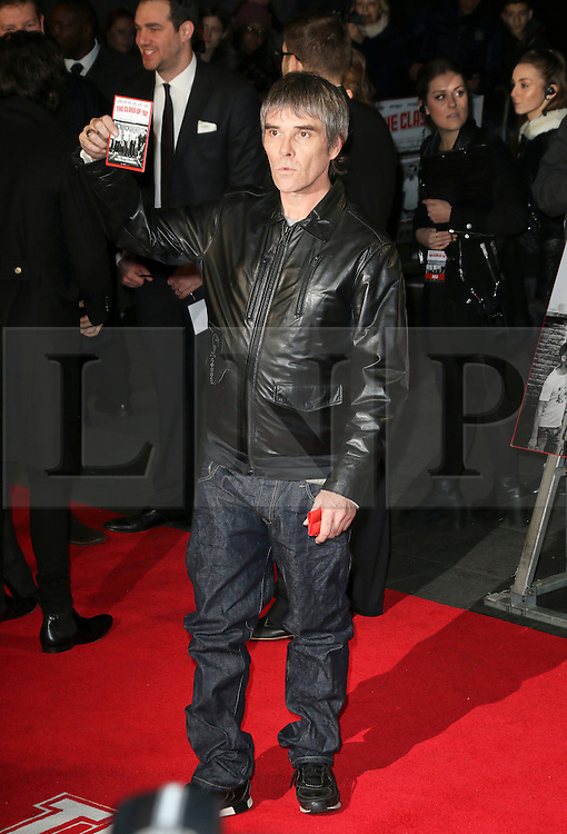© Licensed to London News Pictures. Ian Brown attends The Class of 92  World Film Premiere at The Odeon West End, Leicester Square, London on 01 December 2013. Photo credit: Richard Goldschmidt/LNP