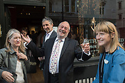 ANTHONY CRICHTON-STUART; MARK WEISS, Opening of Artfully Dressed, Women in the Art World at the Weiss Gallery, St. James, London. 15 May 2018