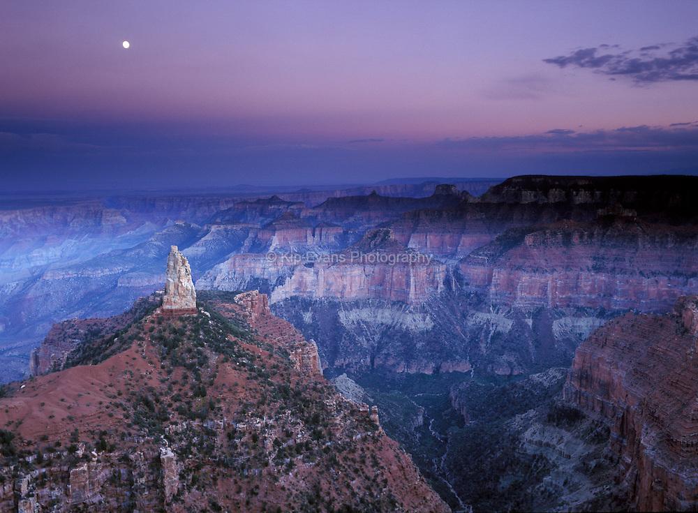 Grand Canyon National Park, north rim.