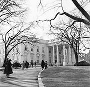 CH0003. White House, Washington DC, 1950s