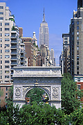 Washington Square Park, Greenwich Village, Manhattan, New York