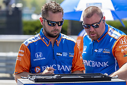 April 21, 2018 - Birmingham, Alabama, United States of America - The Chip Ganassi Racing Team waits for a practice session for the Honda Indy Grand Prix of Alabama at Barber Motorsports Park in Birmingham Alabama. (Credit Image: © Walter G Arce Sr Asp Inc/ASP via ZUMA Wire)