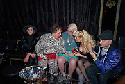 MIKA; SCOTTY; SAMI; AMANDA LEPORE; CAZWELL. The Premiere of DD perfume by Agent Provocateur with a DD Fashion Show. Dolce. Air St. London. 25 September 2008 *** Local Caption *** -DO NOT ARCHIVE-© Copyright Photograph by Dafydd Jones. 248 Clapham Rd. London SW9 0PZ. Tel 0207 820 0771. www.dafjones.com.