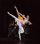 Birmingham Royal Ballet Company rehearsal of The Prince of the Pagodas