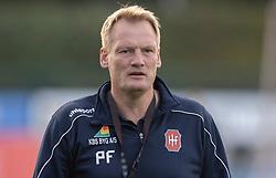 Cheftræner Per Frandsen (Hvidovre IF) før kampen i 1. Division mellem Hvidovre IF og FC Helsingør den 15. september 2020 på Pro Ventilation Arena, Hvidovre Stadion (Foto: Claus Birch).