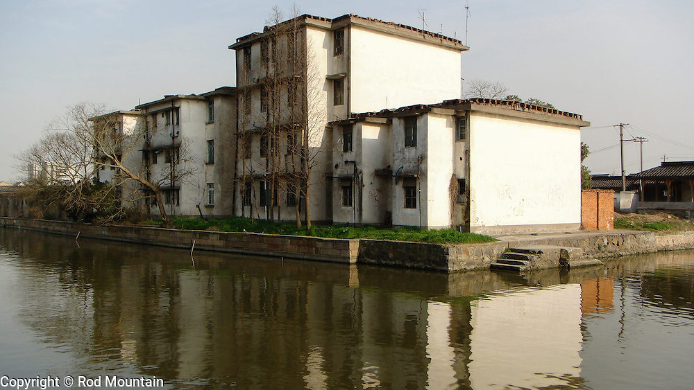 Old time residences as seen in Xitang, China.