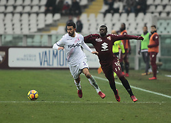 January 6, 2018 - Turin, Italy - Giancarlo Gonzalez during Serie A match between Torino v Bologna, in Turin, on January 6, 2018  (Credit Image: © Loris Roselli/NurPhoto via ZUMA Press)