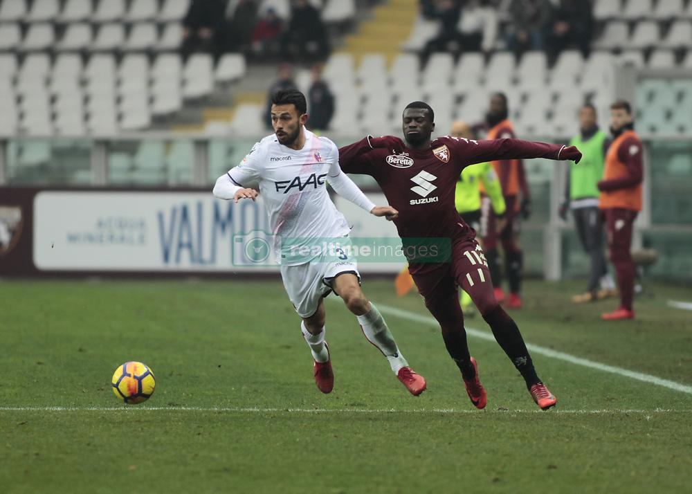 January 6, 2018 - Turin, Italy - Giancarlo Gonzalez during Serie A match between Torino v Bologna, in Turin, on January 6, 2018  (Credit Image: © Loris Roselli/NurPhoto via ZUMA Press)