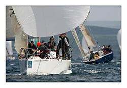 Bell Lawrie Scottish Series 2008. Fine North Easterly winds brought perfect racing conditions in this years event..Class 2 IRL33333 Contango, Corby 35