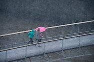 Photographer: Chris Hill, Millenium Bridge, Dublin