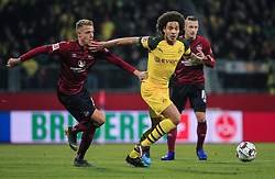 18.02.2019, 22.Spieltag, 1.Bundesliga, 1.FC Nuernberg vs BVB Dortmund, Max Morlock Stadion Nuernberg, Fussball ,Sport im Bild:.. Ondrej Petrak ( 1.FC Nuernberg ) vs Axel Witsel (BVB)..DFL REGULATIONS PROHIBIT ANY USE OF PHOTOGRAPHS AS IMAGE SEQUENCES AND / OR QUASI VIDEO...Copyright: Philippe Ruiz..Tel: 089 745 82 22.Handy: 0177 29 39 408.e-Mail: philippe_ruiz@gmx.de (Credit Image: © Philippe Ruiz/Xinhua via ZUMA Wire)