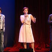 NLD/Amsterdam/20061001 - Uitreiking Blijvend Applaus prijs 2006, Marc-Marie Huijbregts, Loes Luca en Pierre Bokma
