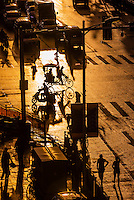 This image of a street scene, Beijing East Road, Lhasa (Xizang), Tibet (China) won the 2016 silver Cultural award in the Society of American Travel Writers' Bill Muster photo competition.