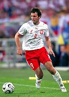 Fotball<br /> VM 2006<br /> Foto: Dppi/Digitalsport<br /> NORWAY ONLY<br /> <br /> FOOTBALL - WORLD CUP 2006 - STAGE 1 - GROUP A - POLEN v ECUADOR - 09/06/2006<br /> <br /> MACIEJ ZURAWSKI (POL)