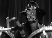 Renown Texas drummer, Paul English, of Willie Nelson's band.