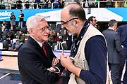 DESCRIZIONE : Trento Beko All Star Game 2016<br /> GIOCATORE : GiulioCiamilloCiamilloCiamillo Valerio Bianchini<br /> CATEGORIA : Before Pregame<br /> EVENTO : Beko All Star Game 2016<br /> GARA : Beko All Star Game 2016<br /> DATA : 10/01/2016<br /> SPORT : Pallacanestro <br /> AUTORE : Agenzia Ciamillo-Castoria/Max.Ceretti