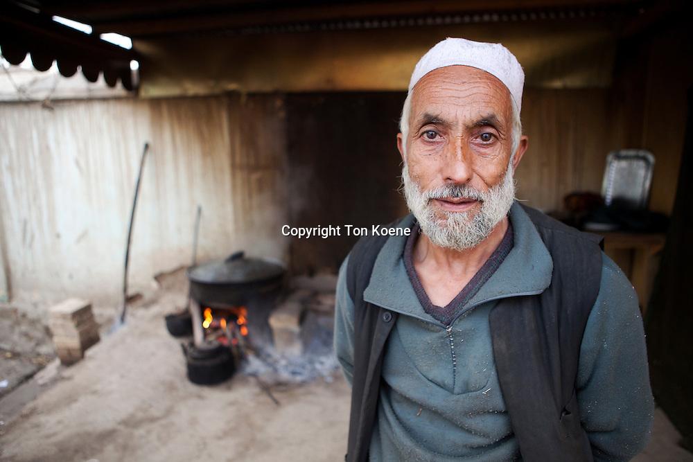 kitchen at police sub station no 3, Kunduz, afghanistan