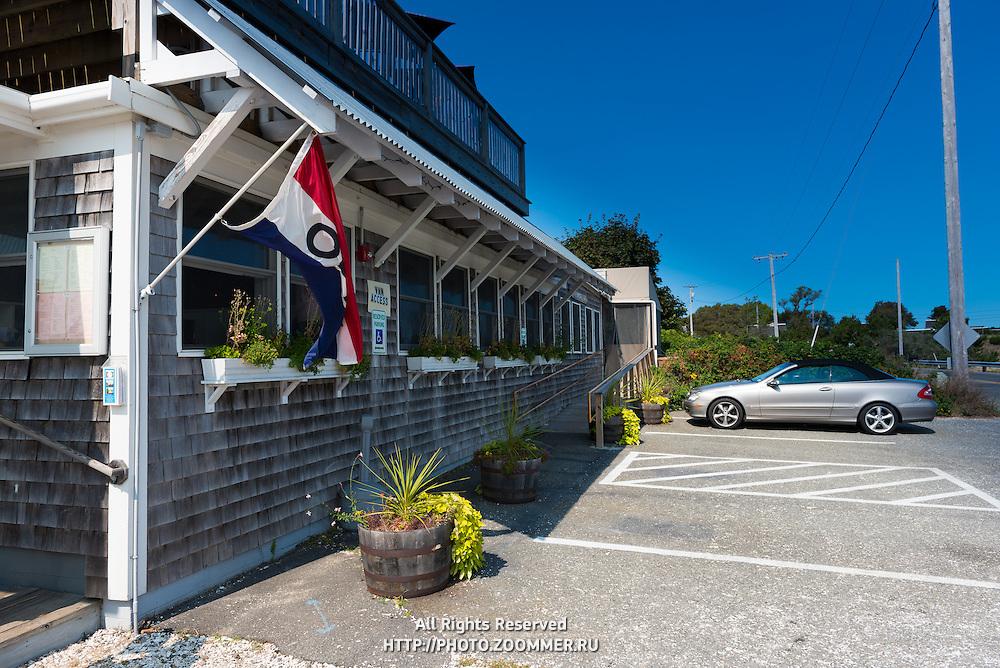 Pearl Restaurant shingle house, Cape Cod