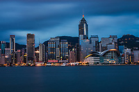 Convention & Exhibition Centre + Central Plaza Tower, Wan Chai (Morning)