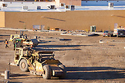 Heavy Construction Equipment on the Job Site