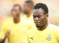 Photo: Steve Bond/Richard Lane Photography.<br />Ghana v Guinea. Africa Cup of Nations. 20/01/2008. Michael Essien of Ghana and Chelsea