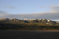 Sunrise on Gros Ventre Mountains, Grand Teton National Park
